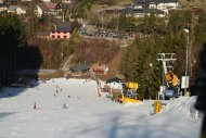 Upravený svah se zárukou dostatku sněhu - Velikostfotografie:165kB